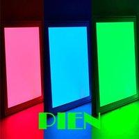 300x300 mm RGB LED Ceiling light Square flat panel lamp 2.4G recessed 85V-265V+RGB Controller+ WIFI Hub  CE&ROHS by DHL 12pcs