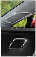 For VW Golf 7 MK7 2014+ ABS Chrome Inside Interior Tweeter Cover Trim