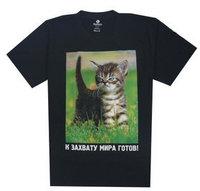 Hot 2015 Fashion Summer Basic Undershirts Tee Hip Hop Tiger Cat Print T Shirt Lycra Cotton High Quality Gift T-shirt M L XL