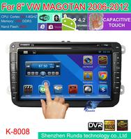 "8"" Pure Android 4.2 Car DVD GPS For VW PASSAT GOLF 5 6 Polo Bora JETTA MK4 B6 PASSAT CC Tiguan SKODA OCTAVIA Fabia CANBUS"