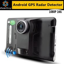 Новый GPS-навигатор на Android 4.4 с 7 дюймовым экраном, видеорегистратором, антирадаром, FM, WIFI и встроенной памятью 16GB. Бесплатная карта Европы/России