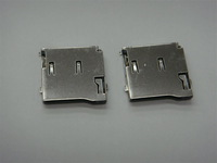 DHL or EMS  free shipping double press TF socket ,9pins,surface mount ,copper case ,500pcs/lot