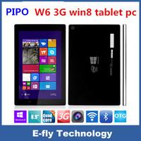 Pipo W6 3G/Wifi Intel Bay Trail-T Z3735F Quad Core Tablet PC 8.9 Inch 2GB 32GB WINDOWS win 8.1 GPS Bluetooth Christmas Gift