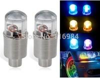 2pcs  LED Cycling Bike Bicycle Neon Car Wheel Tire Valve Caps Wheel Lights