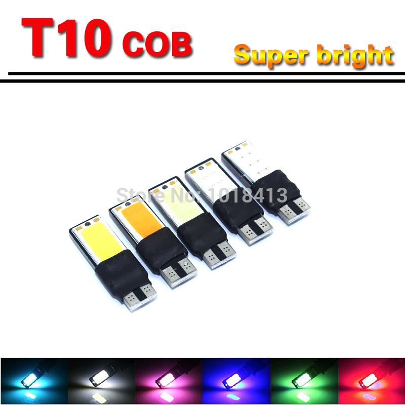 2pcs Super Quality 10 LED SMD 5730 Error Free 194 168 W5W Universal parking Car LED T10 LED CANBUS T10 LED CANBUS Car Side Light