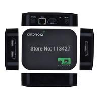 Free Shipping Allwinner A20 Dual Core 1GB / 4GB Android 4.2 Smart TV Box 1080P WIFI HDMI YOUTUBE XBMC Media Player Quad Core GPU