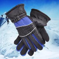 2015 Hot Men's Outdoor Skiing Gloves Full Finger Cycling Gloves Wearproof Waterproof Windproof Skidproof Gloves Free Shipping