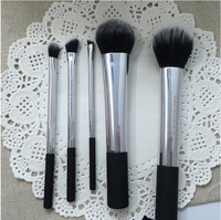 Factory price!100pcs/lot)high quality New 5pcs REAL t Collection Brush Set BoxedT Kabuki Kit Brushes set Professional brush set