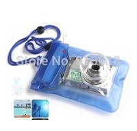 2015 New Hot Sale Digital Camera Waterproof Bags Video Waterproof Cases Underwater Diving Floating Pouch for Camera