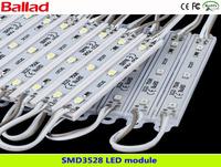 Water-proof  SMD3528 LED modules with single color/ LED lamps/LED lights (1lot=20sets,1 set=20 pcs)