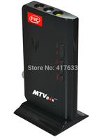 Free shipping HD LCD TV Box Computer TO PC VGA S-Video Analog TV Program Receiver Tuner Dongle LCD Monitor