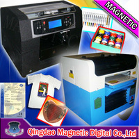 eight colors cotton fabric printer, garment printer with high resolution