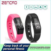 Wireless Activity Bluethooth 4.0 Wearable Technology Large Screen OLED Tracker Wristband Pedometer