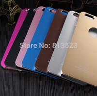 A6 Air Jacket Aluminum Matte Metal Cover Case For iPhone 6 4.7,6 Plus 5.5