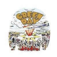 "Harajuku iswag cartoon sweatshirts women fashion cute ""GREEN DAY""printed 3d hoodies sweatshirts for couple hoodie Nora05569"