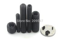 QTY50 M2x6mm Head Hex Socket Set Grub Screws Metric Threaded Cup Point