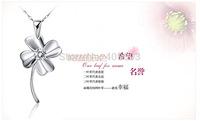 South Korean copper pendant  clover shaped pendant no chain accessories wholesale for women / piece