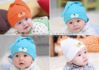 New mult-color Cartoon Baby Toddlers Cotton comfort Sleep Cap Headwear Cute Hat