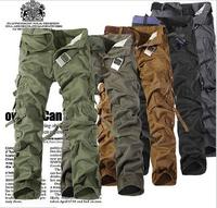 Camouflage Pants 2014 New Mens Jogger Pants Casual Men's Hip Hop Long Harem Pants Cargo Trousers Calca Camuflada  Z1243