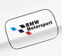 Free shipping 2pcs/lot new Car Sticker motorsport logo for BMW car door car fuel tank cover Sticker styling