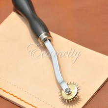 4mm Stainless Steel Leather Paper Overstitch Wheel Gear Roulette Spacer Sewing Leather Craft Tool