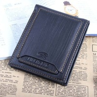 hot selling 100% leather men brand wallet purse with removable card slots men wallets free shipping