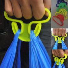 Carry food machine Ergonomic shopping good helper plastic 9*6cm Weight capacity 15kg Free shipping shopping bag Hooks C138