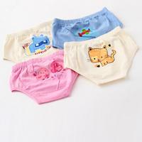 Baby Underwears Unisex Boys Girls Children Organic Cotton Toddler Kids Cartoon Cute Panties Brand Bebe Up Clothing 8pcs/LOT