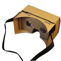 Stylish Trendy Magnetic Head Mount Google One Piece Top quality Cardboard 3d Glasses Vr Toolkit