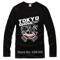 New fashion Tokyo Ghouls Long Sleeve T-shirt Anime Kaneki Ken Cosplay Costume Casual Men Women Clothes Cotton Tops Tees