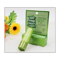 new lip balm in South Korea Authentic natural aloe glue lip balm Light colour hydrating and nourishing