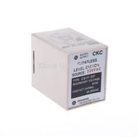 AC 220V Liquid Control Relay Floatless Level Switch Sensor 8 Pin SPDT C61F-GP