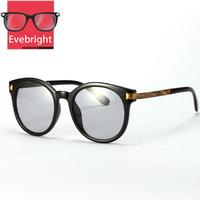 2015 Fashion Retro Round Sunglasses women Vintage Metal Frame UV 400 sunglass Cat Eye Sunglasses Oculos De Sol Free Shipping