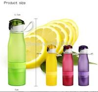 20pcs/lot  700ml Scrub lemon cup Portable cup creative mug cup manual juice cup children kids plastic mugs free shipping