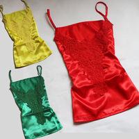 2015 New Summer Women Tops Shirt Female Lace Blouse Chiffon Vest Spagetti Strap Tank Blusinha Cetim Renda Guipir Blusas