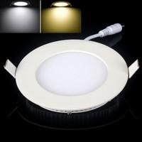 1pcs/lot Led Panel Round Ceiling Panel Down Light Lamp 2835SMD 3W  lamp 85~265V for kitchen bathroom lighting