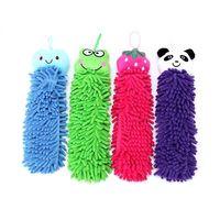 Chenille  microfiber Microfiber cartoon Hanging towel Cute animal cleaning towel, lovely hanging wipe towel, 96149-96152