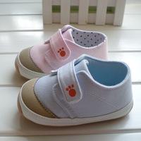 Counter genuine brand Antiskid thickening Rubber soles newborn baby girls Boys Antiskid toddler shoes first walker