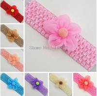 Sweet Infants Toddlers Baby Girls Chiffon Flower Headband Hairband Hair Decors