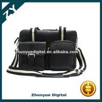 Direct Marketing Fashionable fashion dslr genuine(real) leather camera bag shoulder bag messenger bag for cameras Free shipping