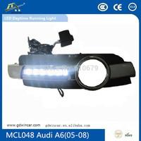 E-mark led drl drl daytime running light led drl for Audi A6 2005-2008  led car light specail white color light