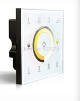 Free HK Post D7 Touch Led  Controller DMX512 4 Zones control DC12-24V   Dimming Touch Panel LED Controller
