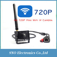 720P Mini Wifi IP Wireless Covert Hidden Pinhole Surveillance CCTV Security Camera ONVIF P2P Plug and Play Android iPhone PC