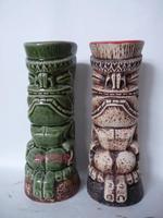 Hawaii Ceramic Beer Mug Ceramic Mug Tiki Mug Cocktail Bar New Year Decoration Colorful Ceramic Crafts