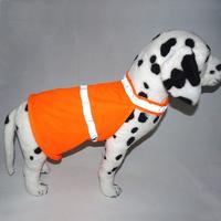 Pet Luminous Clothing Large Dogs Reflective Clothes Fluorescent Security Dog Vest Safety Clothing Dog Jacket Coat Yellow Orange