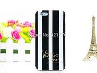 Classic brand case Victoria/'s Secret PINK vertical bar Soft Silicon  Case For iPhone 6 4.7 inch/6 plus Housing Capa Celular