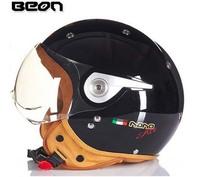 2015 genuine BEON motorcycle helmet half helmet electric car warm men and women