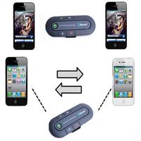 Handsfree Bluetooth Car Kit Speaker for iPhone 4s 5 5s 6 Hands Free Kit Aux Speakerphone