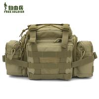 Outdoor super magic big waist pack tactical multi-purpose messenger bag waist pack carry bag slr camera bag