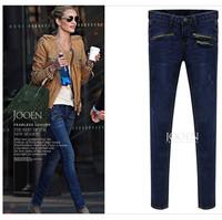 Women Fat Blue Jeans  Plus Size 32-40 Pencil Pants 2015 New Arrival Fashion Jeans Free Shipping ml2693